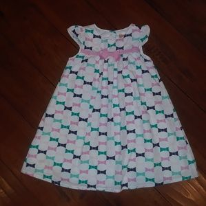 Gymboree girls Bows short sleeved Dress sz 3T